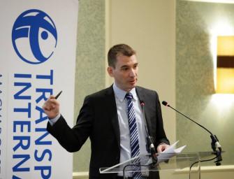 Hatékony küzdelem a korrupció ellen- Konferenecia a Transparency Magyarország szervezésében.