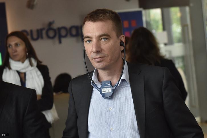 Jávor Benedek, a Párbeszéd európai parlamenti képviselője Fotó: Máthé Zoltán