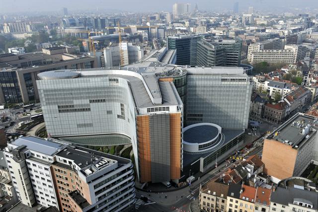 Az Európai Bizottság főhadiszállása, a Berlaymont