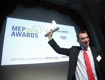Jávor Benedek az év EP képviselője környezetvédelmi kategóroában